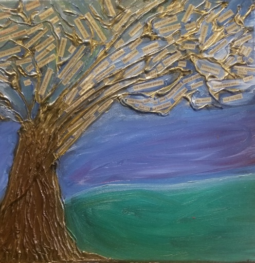 Poetree at Dawn... Grounding Thoughts